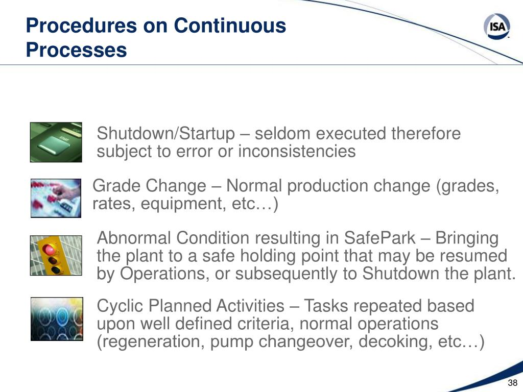 Procedures on Continuous