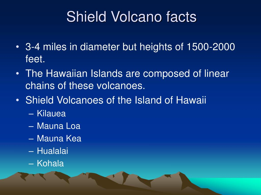 Shield Volcano facts