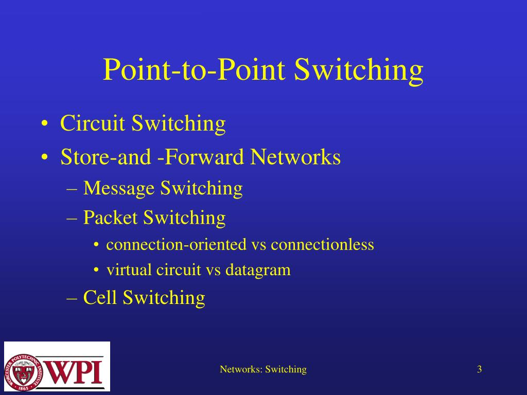 Point-to-Point Switching