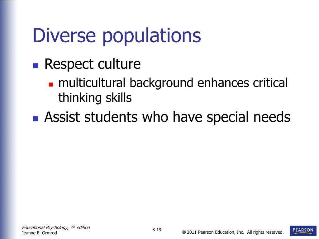 Diverse populations