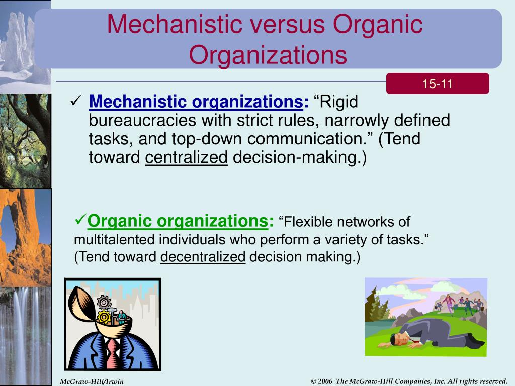 four characteristics common to all organizations explain the difference between closed and open syst 6 difference between mechanistic & organic structure – explained difference between mechanistic & organic the basic characteristics of an organization.