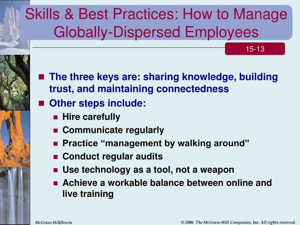 Skills & Best Practices: How to Manage