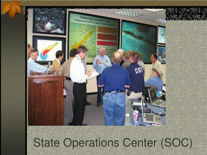 State Operations Center (SOC)