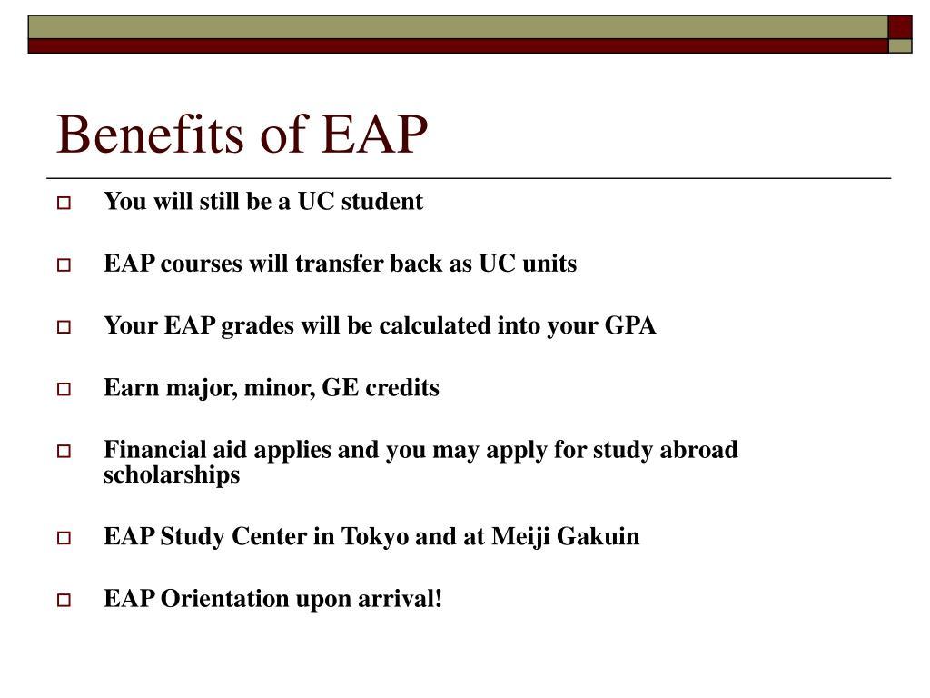 Benefits of EAP