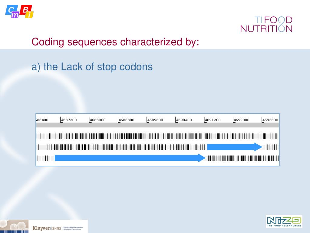 Coding sequences characterized by: