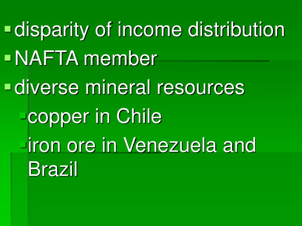 disparity of income distribution