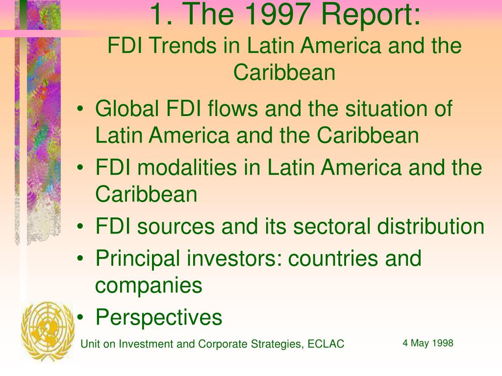 1. The 1997 Report: