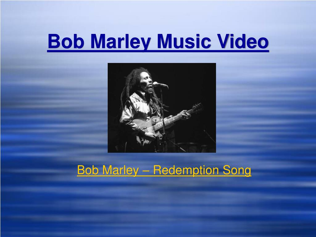 Bob Marley Music Video