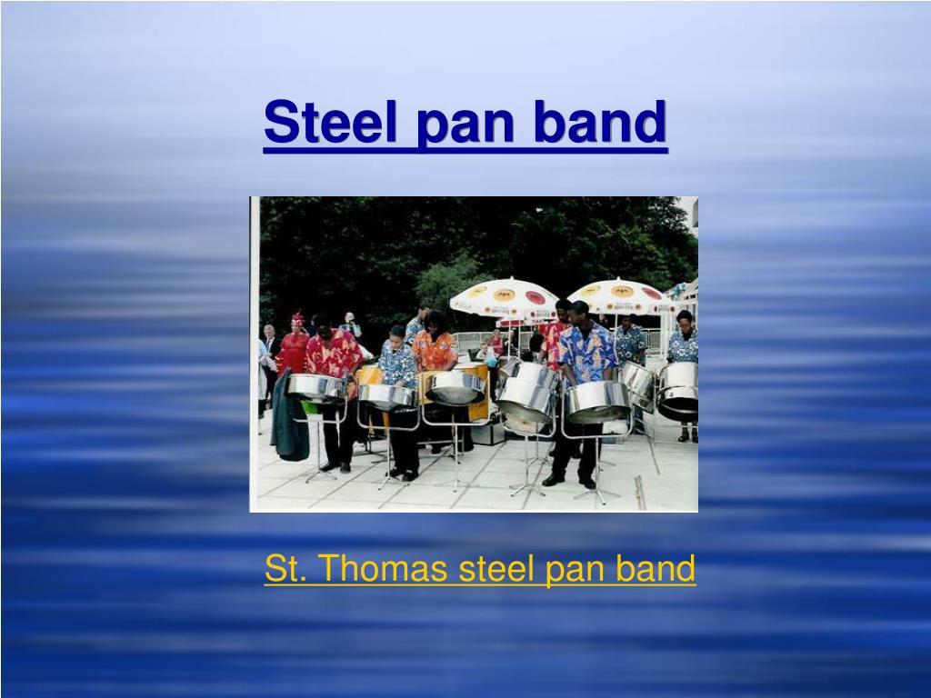 Steel pan band