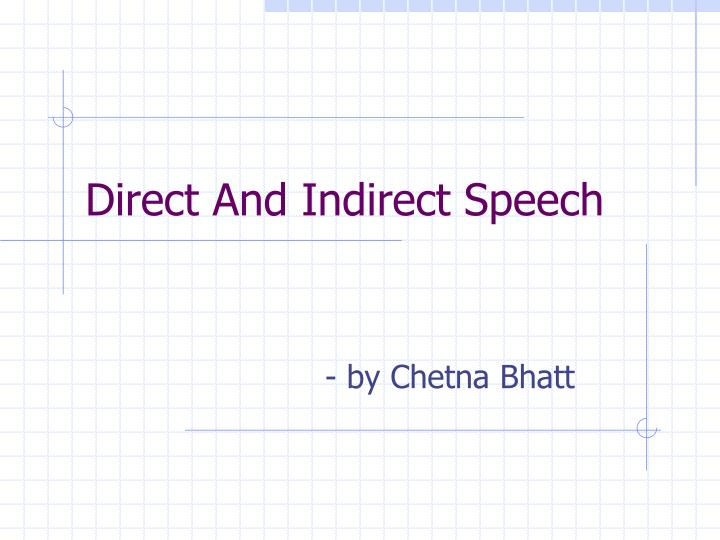 Direct and indirect speech l.jpg