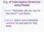 e g of interrogative sentences using modals9