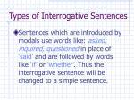 types of interrogative sentences4