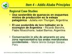 item 4 addis ababa principles
