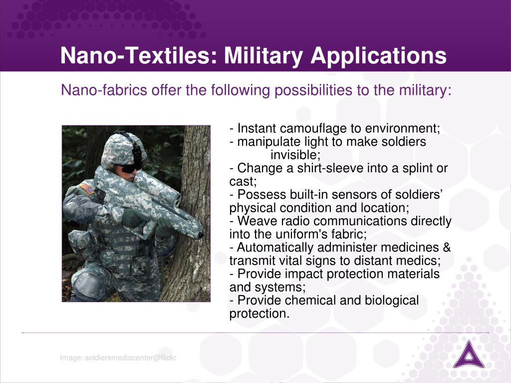 Nano-Textiles: Military Applications