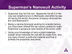 superman s nanosuit activity32