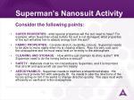 superman s nanosuit activity33