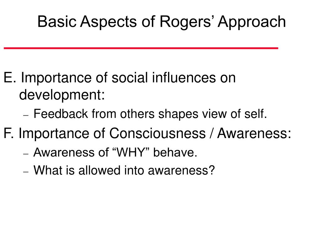 rogers approach Self-actualization theory carl rogers study guide by kschlaz includes 46 questions covering vocabulary, terms and more quizlet flashcards, activities and games help you improve your grades.