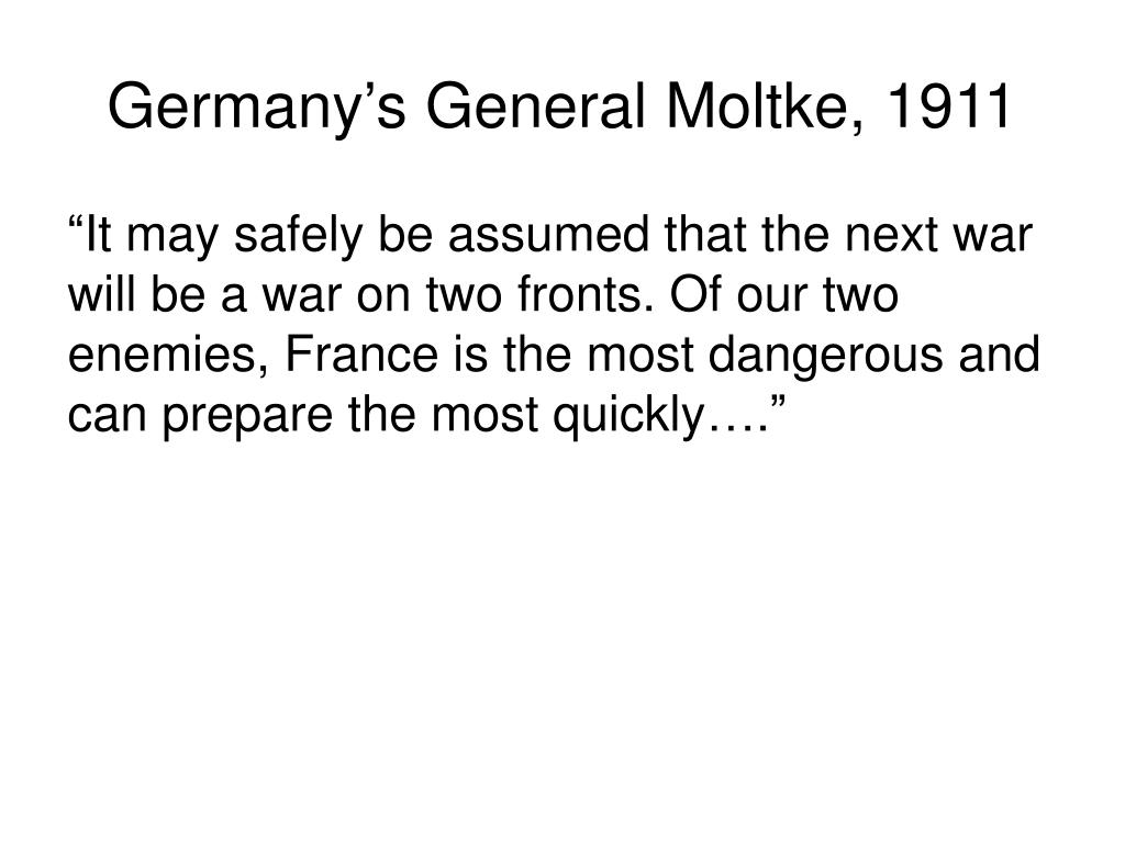 Germany's General Moltke, 1911