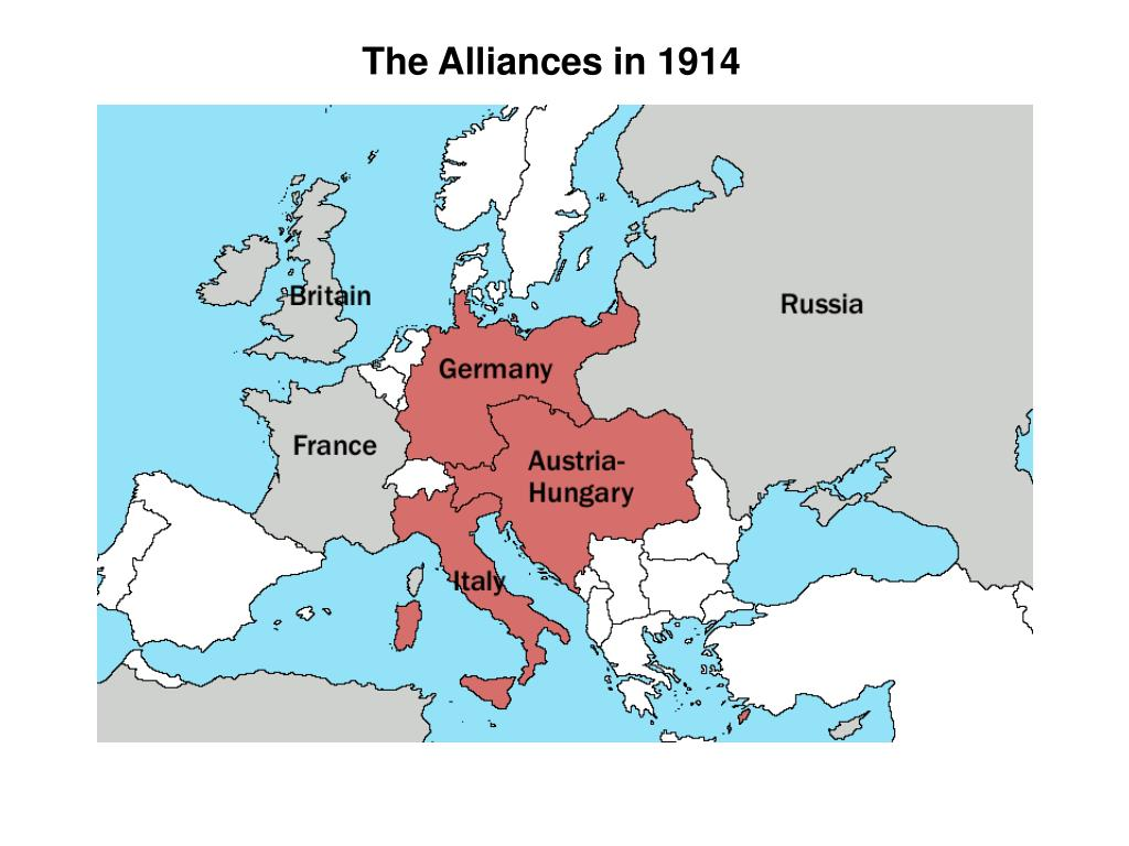 The Alliances in 1914