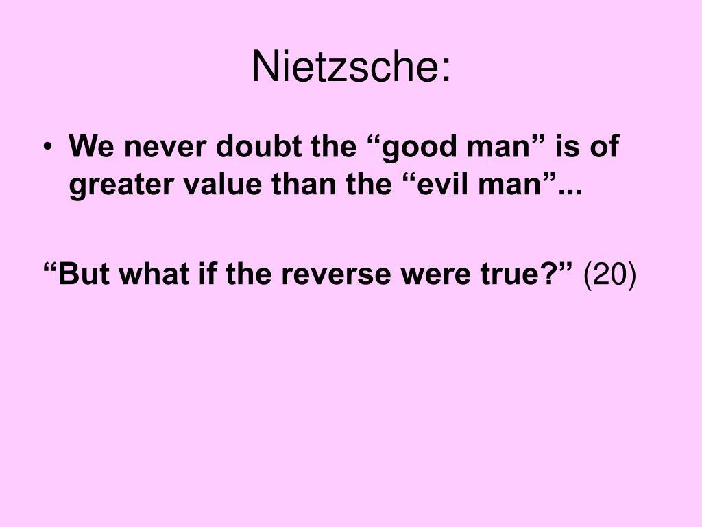 Nietzsche: