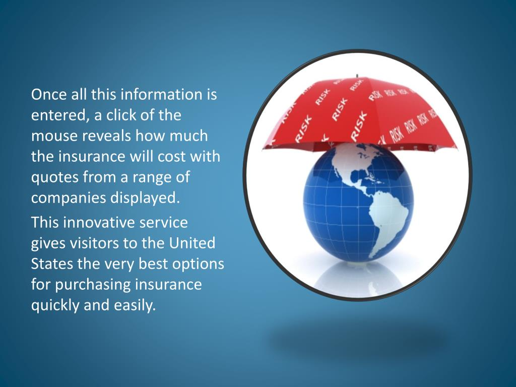 Once all this information is entered, a click of the mouse reveals how much the insurance will cost with quotes from a range of companies displayed.