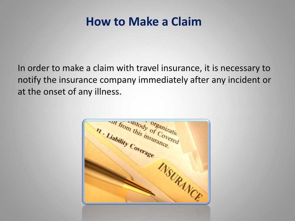 How to Make a Claim