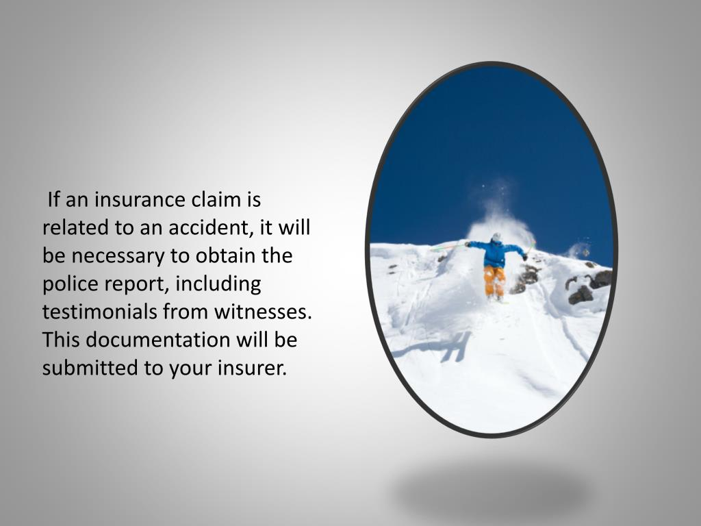 If an insurance claim is related to an accident