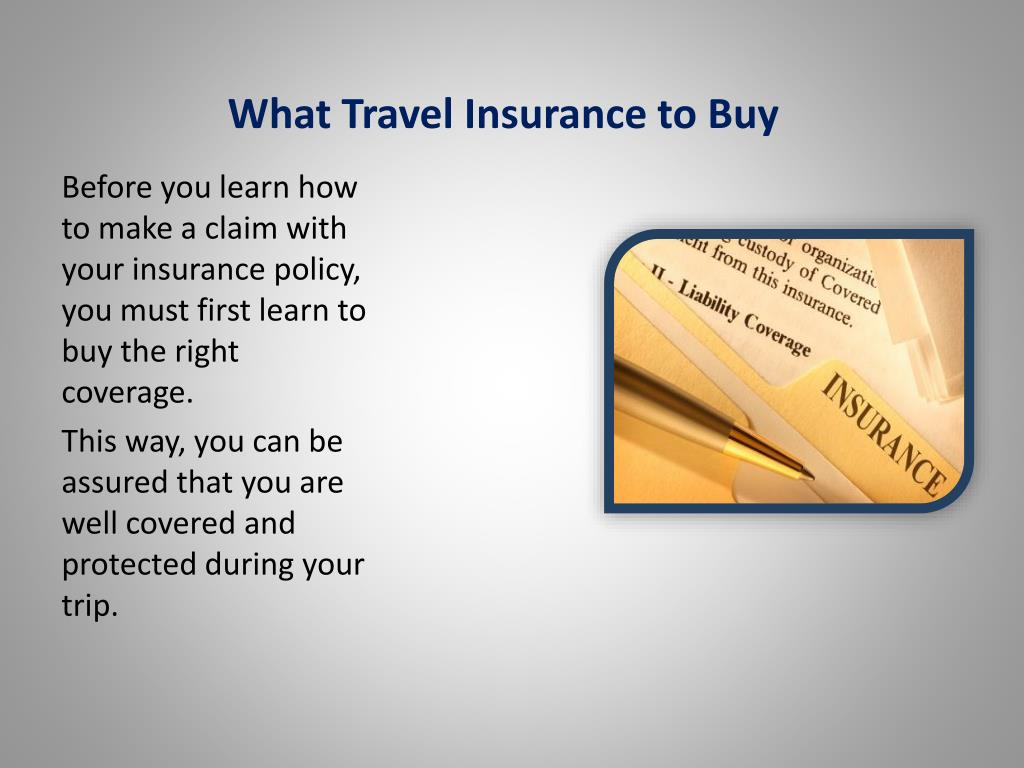 What Travel Insurance to Buy