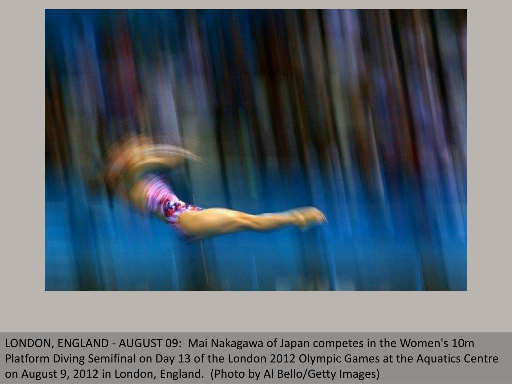 LONDON, ENGLAND - AUGUST 09:  Mai Nakagawa of Japan competes in the Women's 10m Platform Diving Semifinal on Day 13 of the London 2012 Olympic Games at the Aquatics Centre on August 9, 2012 in London, England.  (Photo by Al Bello/Getty Images)