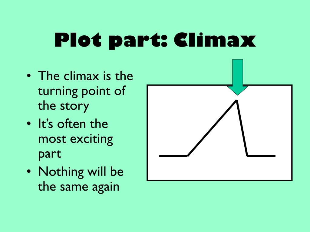 Plot part: Climax
