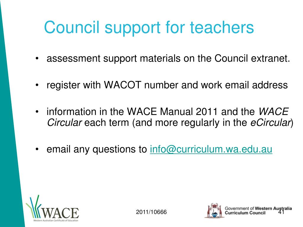 Council support for teachers
