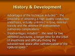 history development6