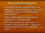 history development9
