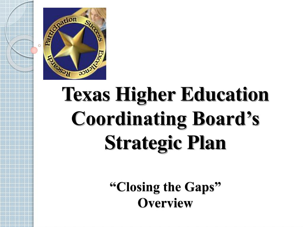 Texas Higher Education Coordinating Board's