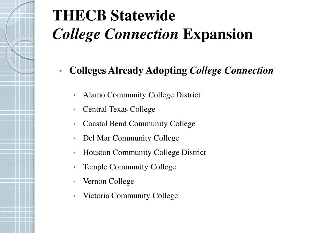 THECB Statewide