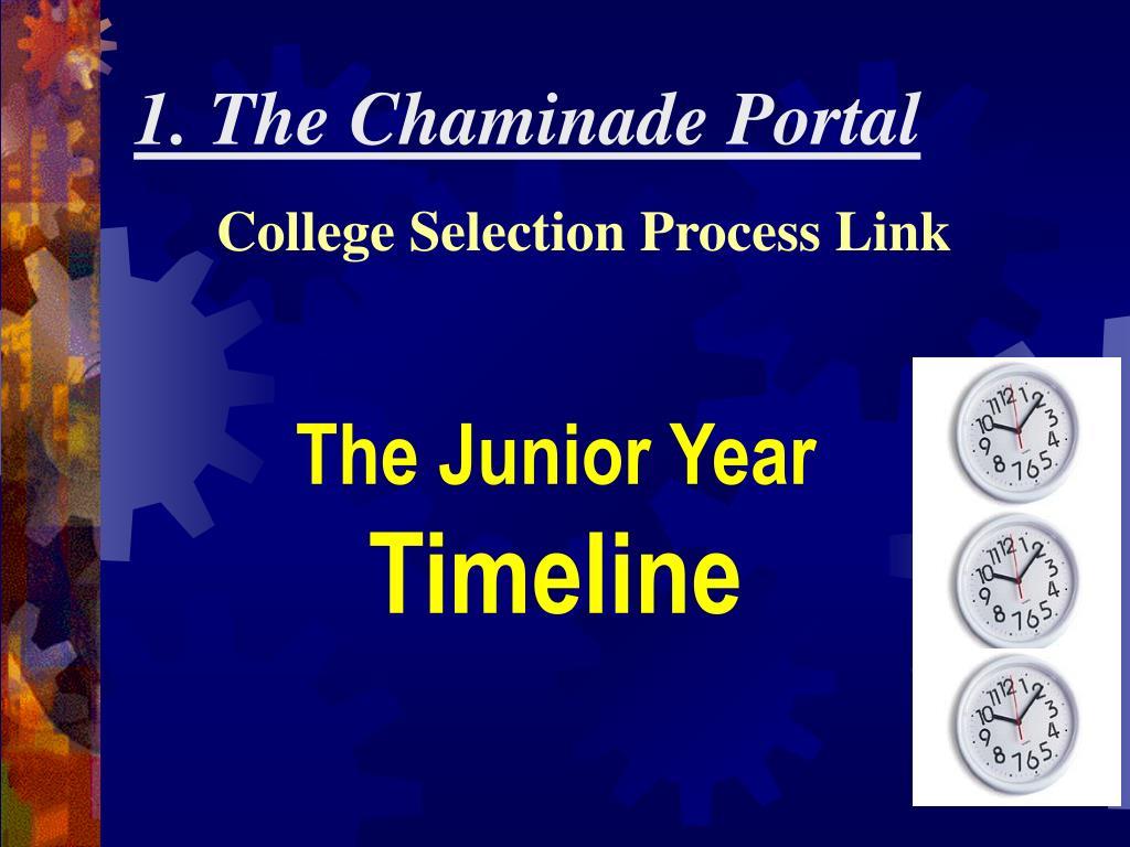 1. The Chaminade Portal