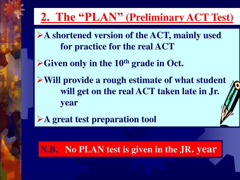 "2.  The ""PLAN"""