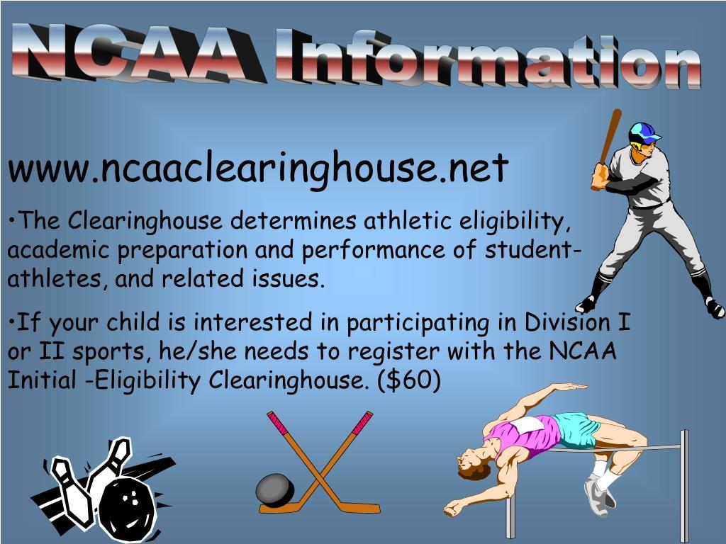 NCAA Information
