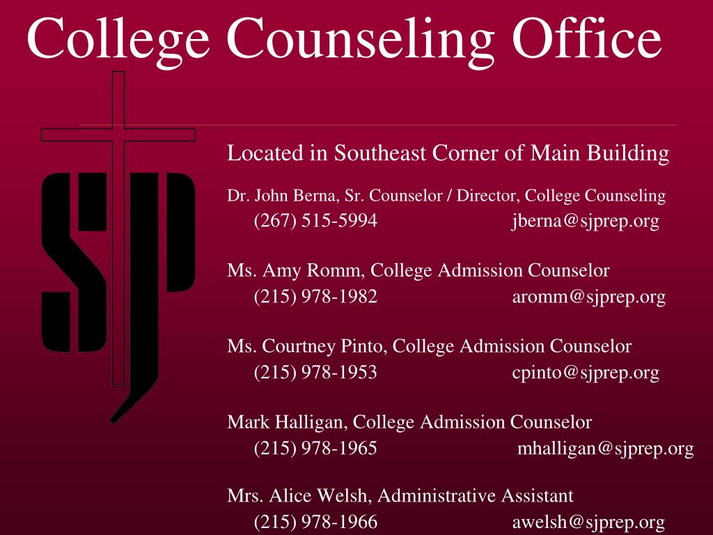 College Counseling Office