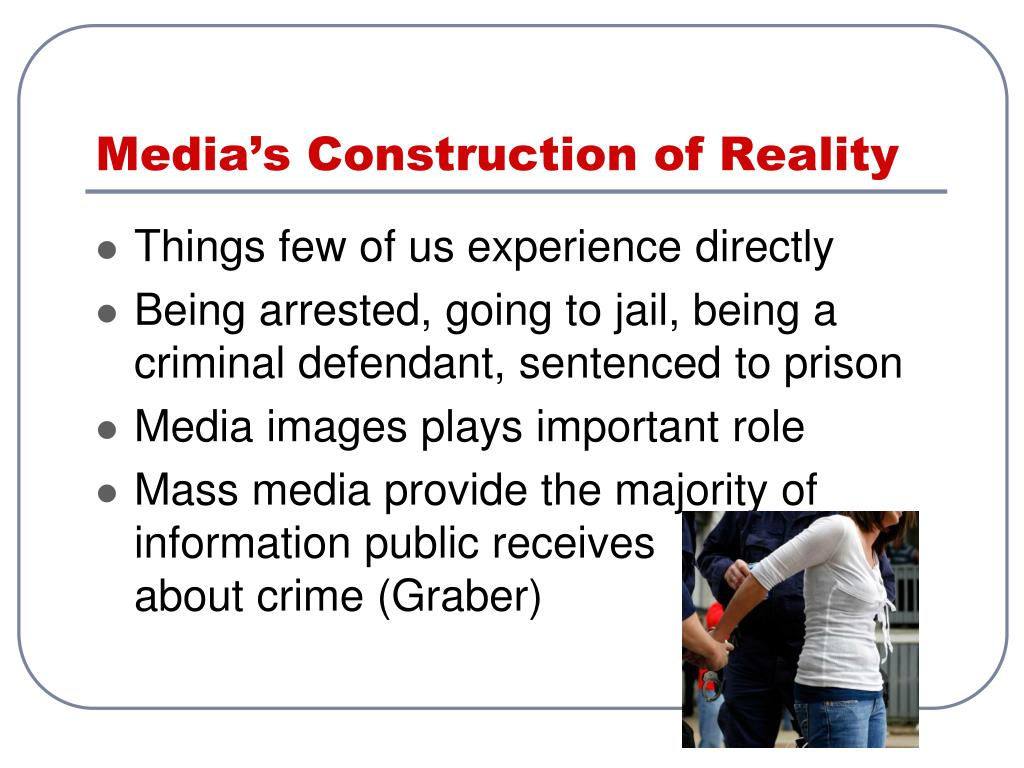Media's Construction of Reality