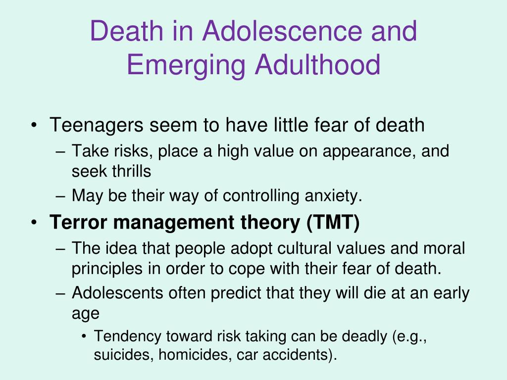 adolescence and adulthood Adolescence and early adulthood - adolescence is often considered a time of confusion, rebellion, and problems while this can occur, most people emerge from adolescence without any problems and successfully navigate the changes that accompany adolescence.