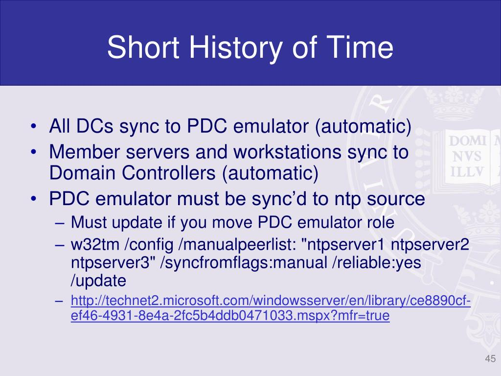 Short History of Time