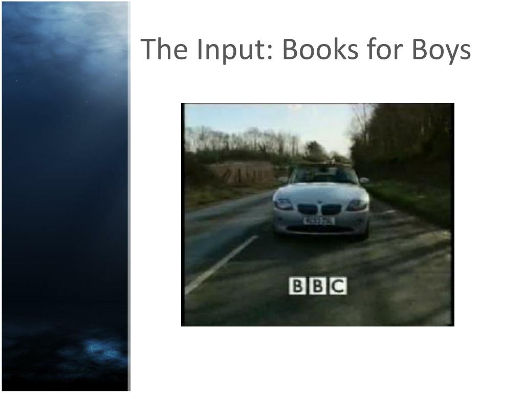 The Input: Books for Boys