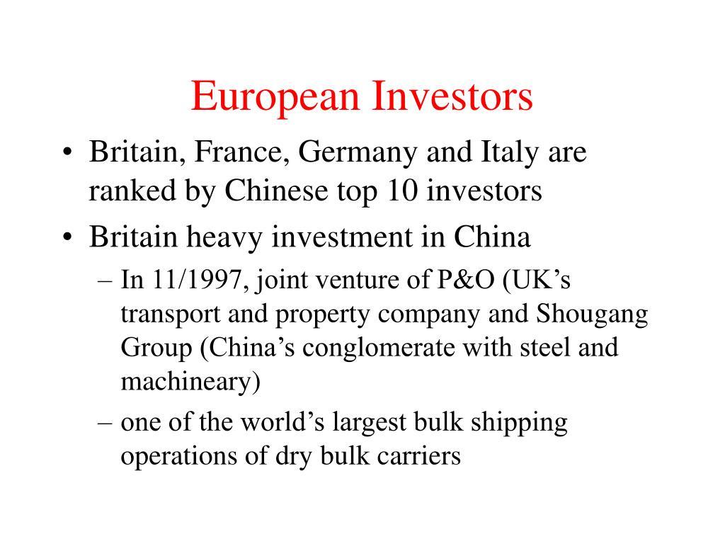 European Investors