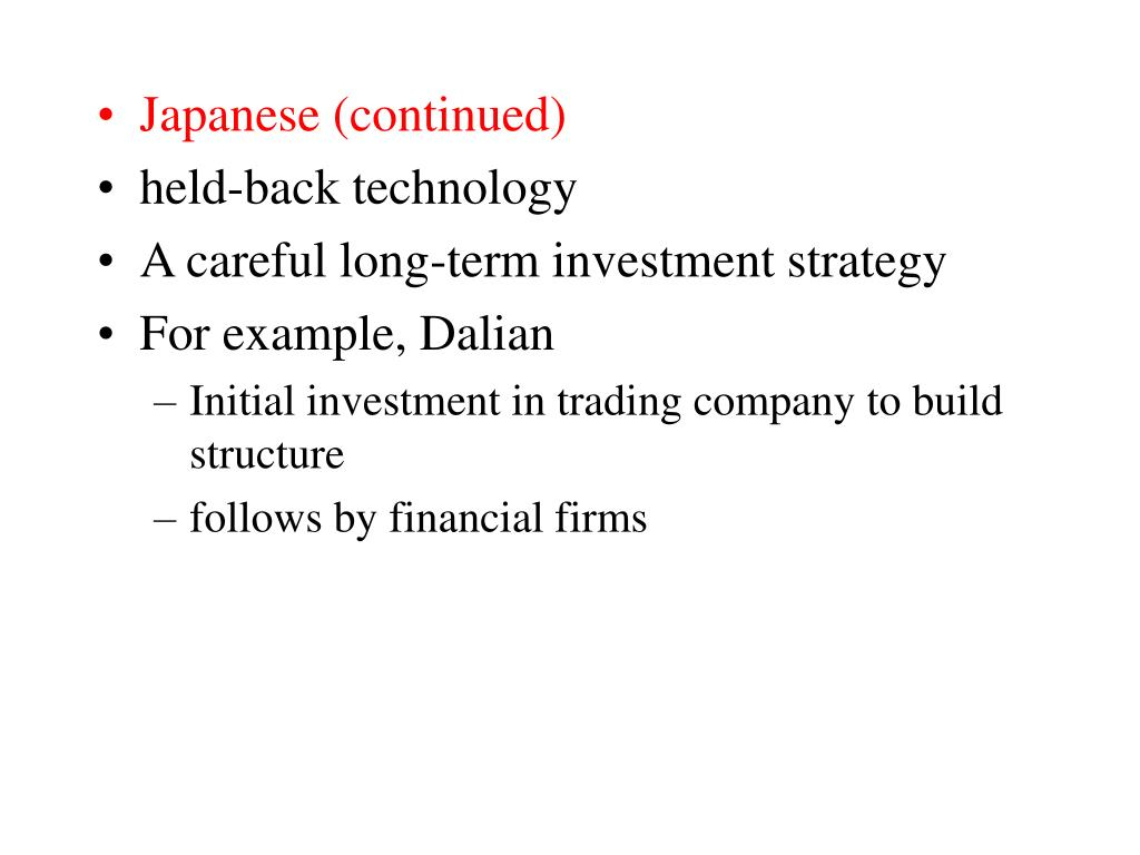 Japanese (continued)