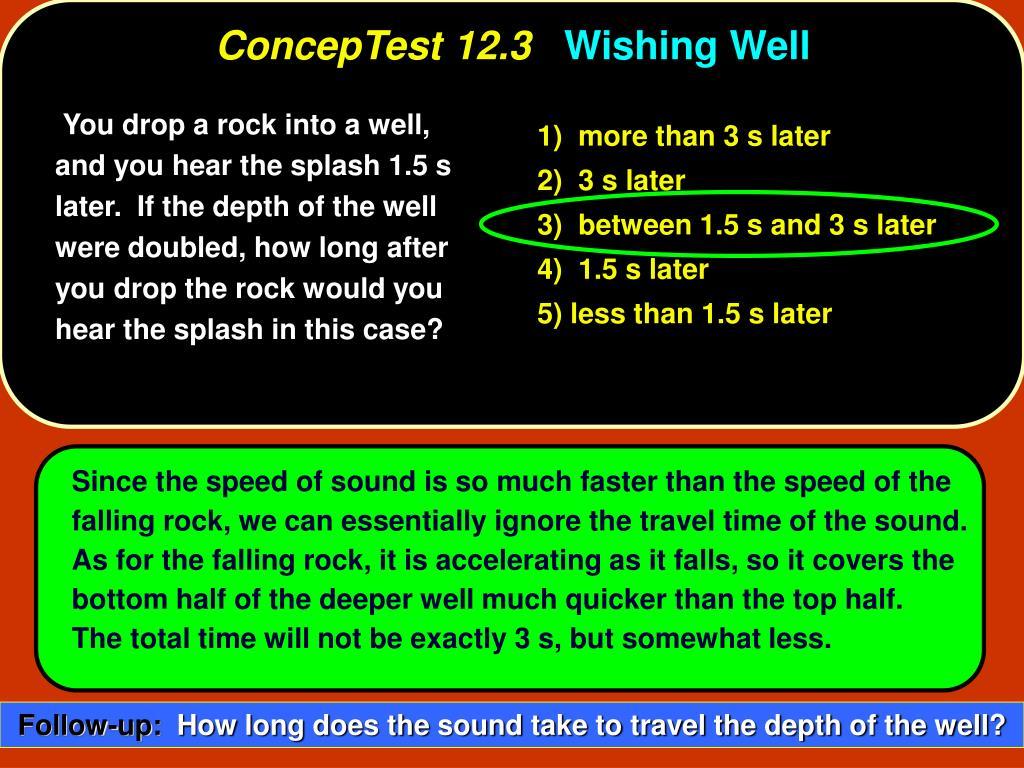 ConcepTest 12.3