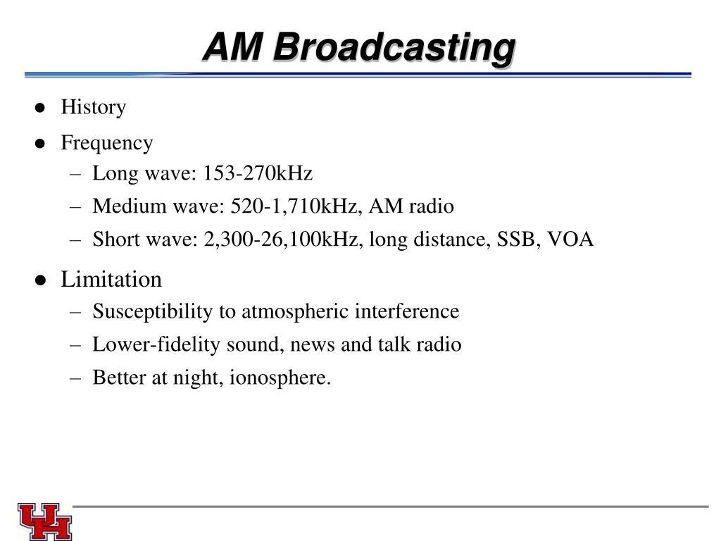 AM Broadcasting