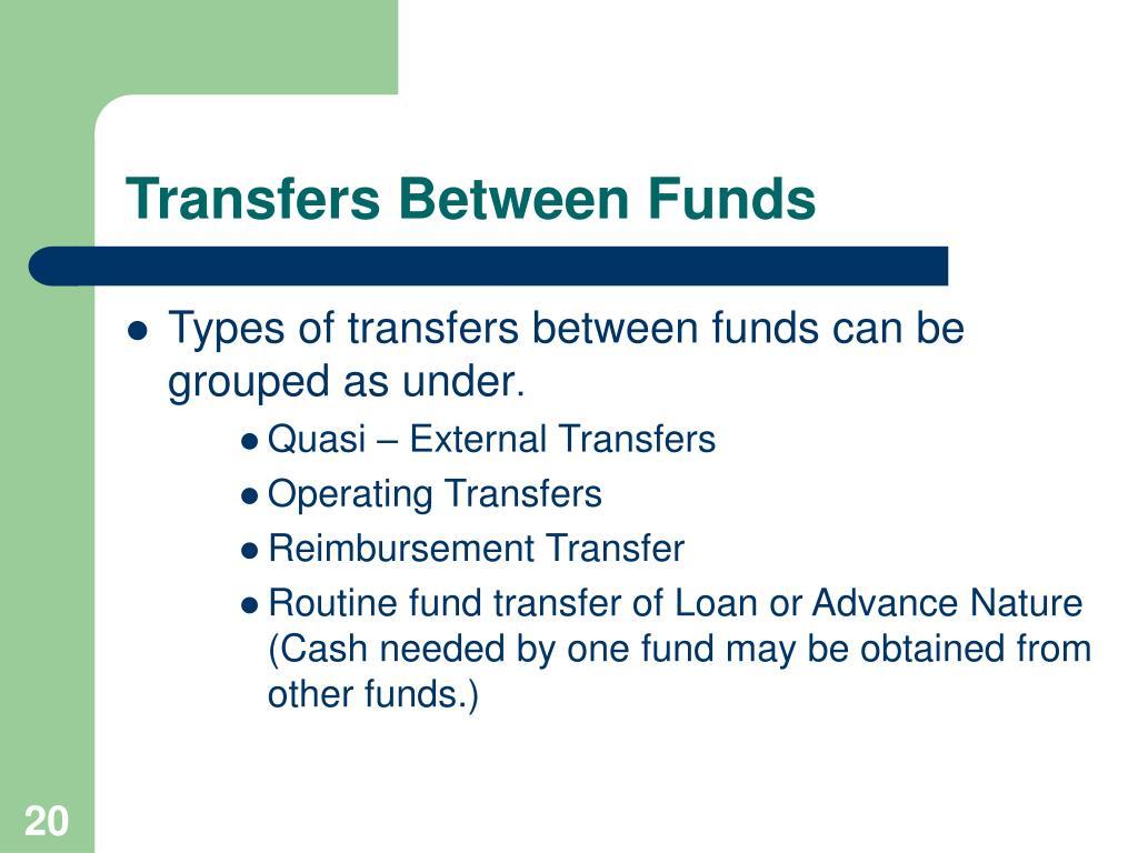 Transfers Between Funds