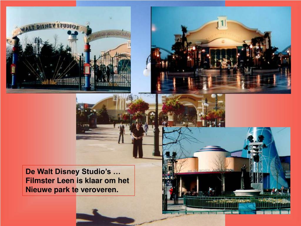De Walt Disney Studio's …