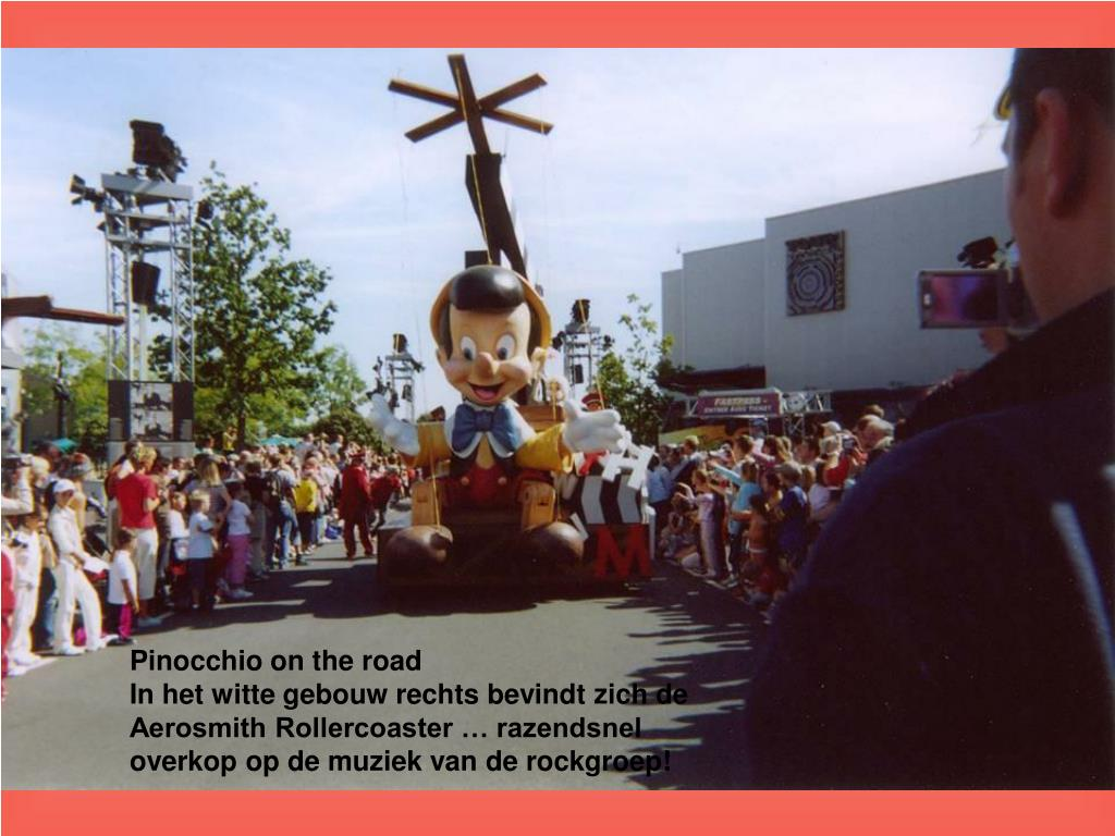 Pinocchio on the road